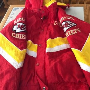 Authentic NFL Chiefs Starter Jacket
